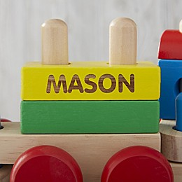 Melissa & Doug® Personalized Stacking Train