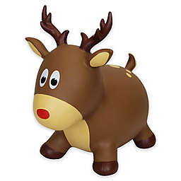 Holiday Hoppers Reindeer Inflatable Climb-On in Red