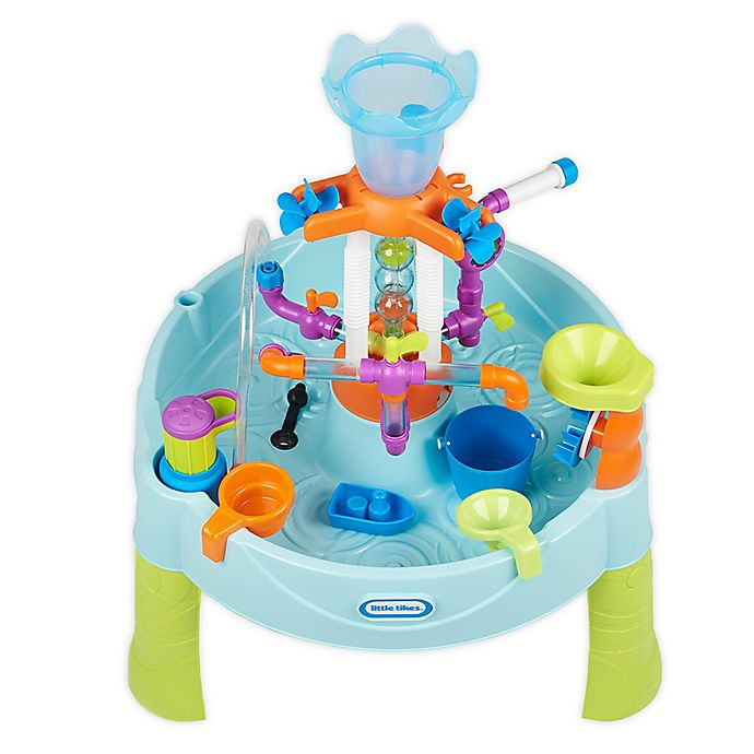 Alternate image 1 for Little Tikes® Flowin' Fun 17-Piece Water Table Set