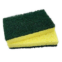 The Original™ 2-Pack Kitchen Sponge with Scour in Green