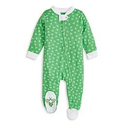 Burt's Bees Baby® Honey Bee Organic Cotton Sleep 'N Play in Emerald