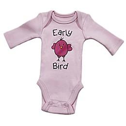 Sara Kety® Preemie Pink Bird Bodysuit