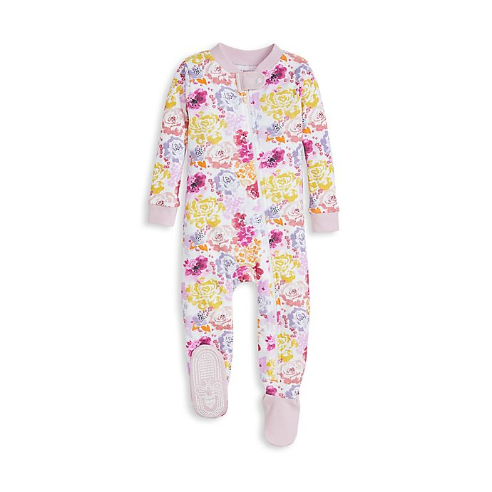 Alternate image 1 for Burt's Bees Baby® Rose Violet Toddler Organic Cotton Sleep 'N Play in Lilac