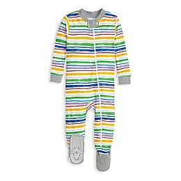 Burt's Bees Baby® Watercolor Rainbow Stripe Toddler Organic Cotton Sleep 'N Play