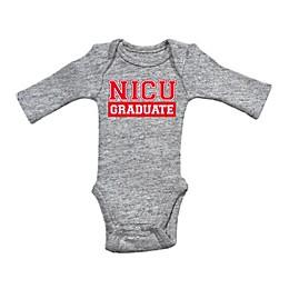 Sara Kety® Preemie NICU Bodysuit in Grey