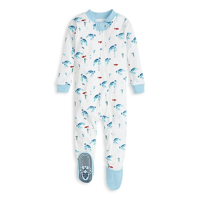 Alternate image 1 for Burt's Bees Baby® Surf's Up Organic Cotton Toddler Sleep and Play