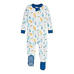 Burt's Bees Baby® Frozen Treats Organic Cotton Toddler Sleep and Play in Cobalt