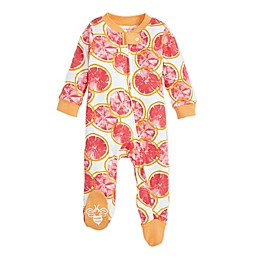 Burt's Bees Baby® Grapefruit Organic Cotton Sleep and Play in Apricot