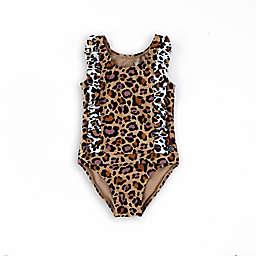 Wowease™ Cheetah Ruffle Toddler Swimsuit