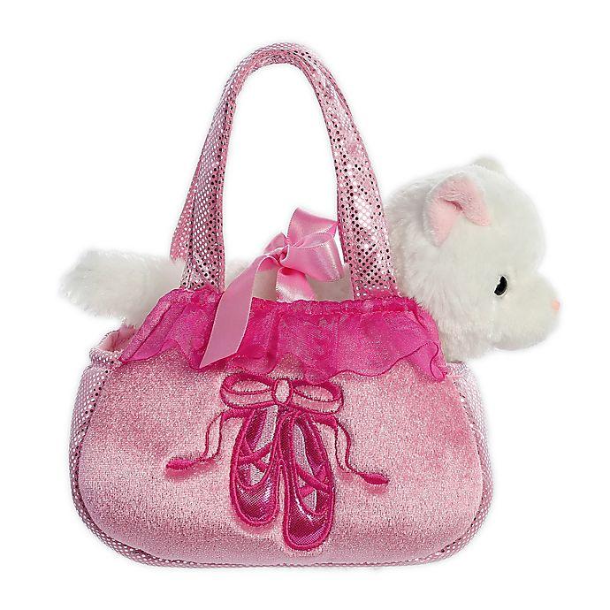 Alternate image 1 for Aurora World® Fancy Pals Ballet Kitten 2-Piece Plush Toy Set in Pink