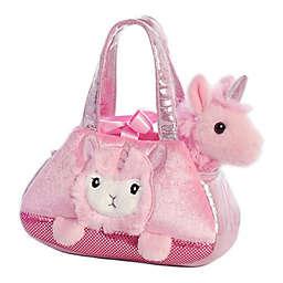 Aurora World® Fancy Pals Peek-a-Boo Llamacorn 2-Piece Plush Toy Set in Pink