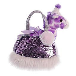 Aurora World® Fancy Pals Shimmers Giraffe 2-Piece Plush Toy Set in Purple