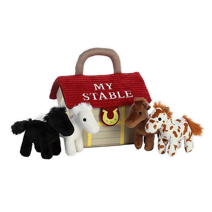 Alternate image 1 for Aurora World® My Stable 5-Piece Plush Toy Set