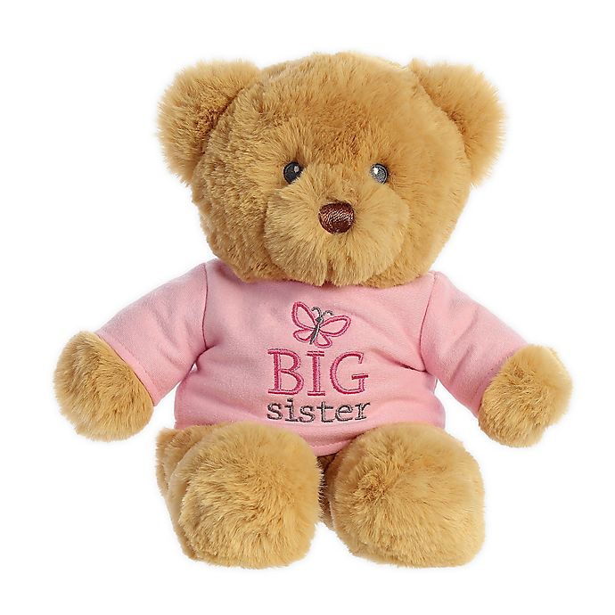 Alternate image 1 for Aurora World® Big Sister Teddy Bear Plush Toy