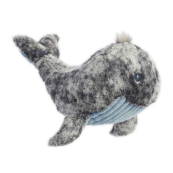 Alternate image 1 for Aurora World® Wyatt the Whale Plush Toy in Grey