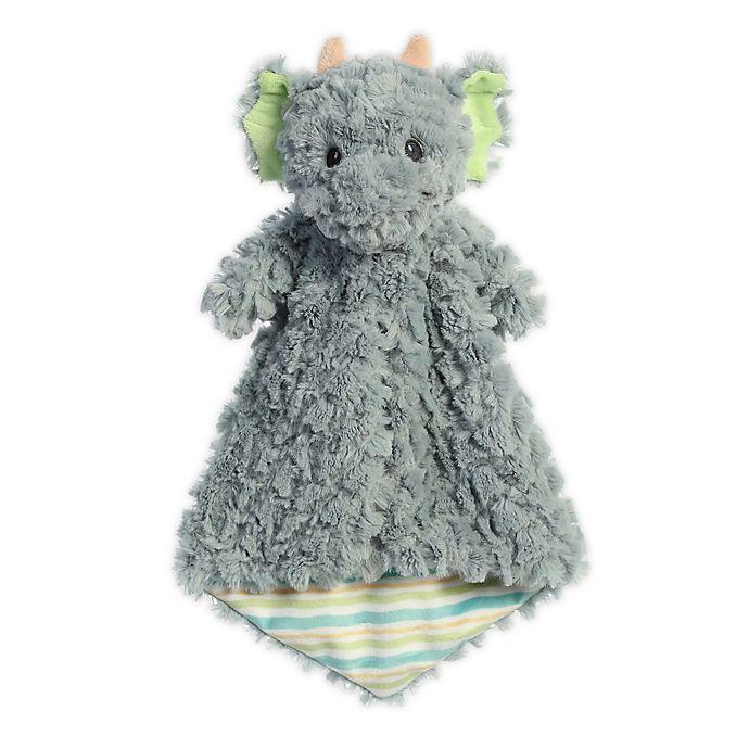 Alternate image 1 for Aurora World® Skylar Dragon Plush Luvster Baby Blanket in Grey