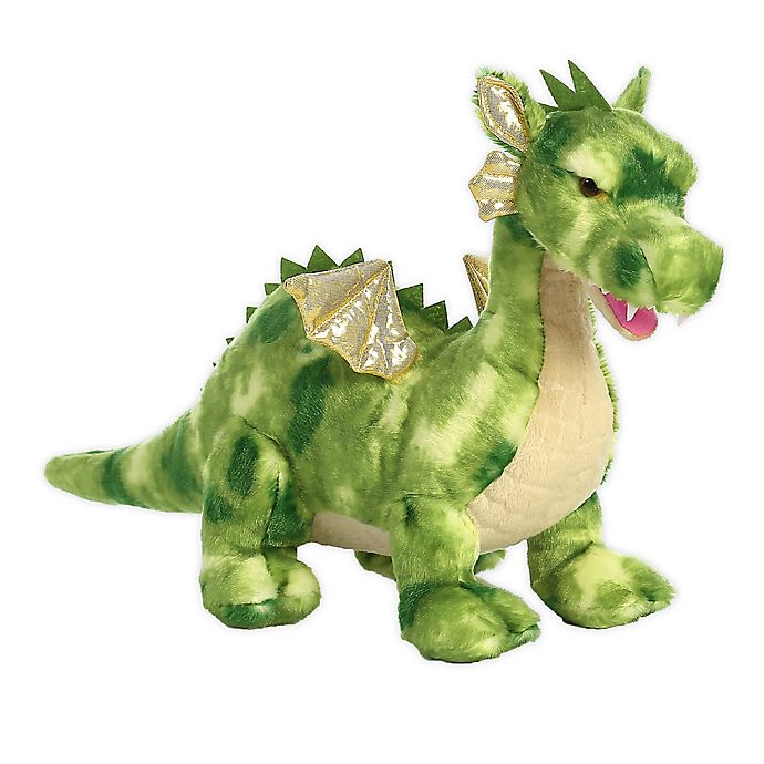 Alternate image 1 for Aurora World® Vollength the Green Dragon Plush Toy
