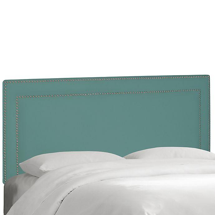 Alternate image 1 for Skyline Furniture Nail Button Border Headboard