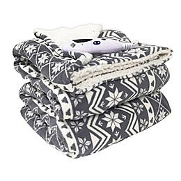 Biddeford™ Blankets MicroPlush Electric Throw Blanket