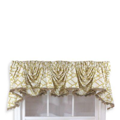 Garden gate 3 scoop victory window curtain swag valance - Bed bath and beyond palm beach gardens ...