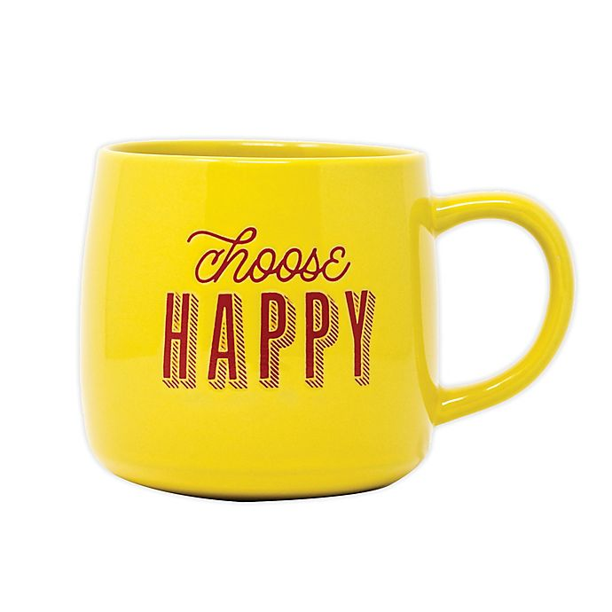Alternate image 1 for Boston Warehouse Trading Corp.® Choose Happy Mug