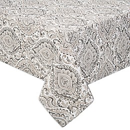 Watercolor Damask Indoor/Outdoor Tablecloth