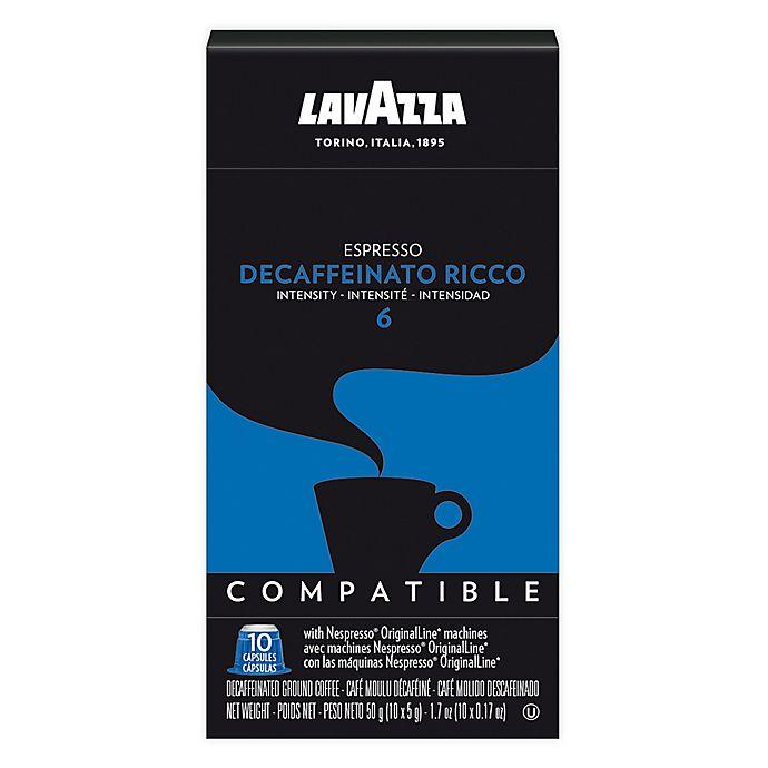 Alternate image 1 for LavAzza® Decaffeinato Ricco Espresso for Nespresso® OriginaLine Machines 60-Count