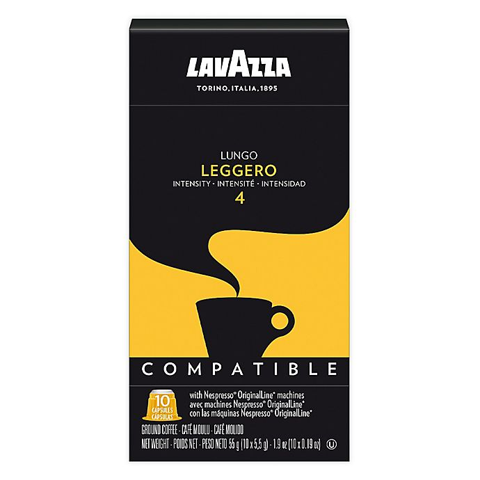 Alternate image 1 for 60-Count LavAzza® Leggero Lungo Espresso for Nespresso® OriginaLine Brewers