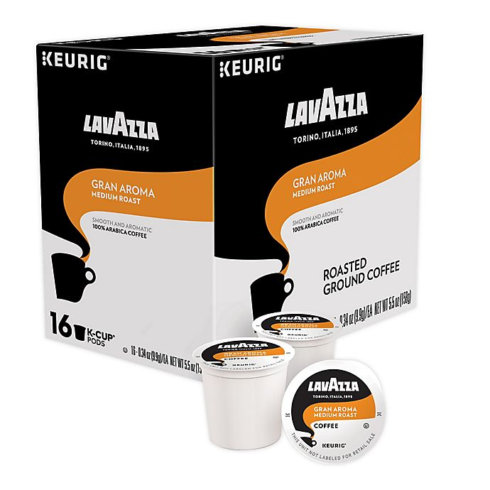 Alternate image 1 for Keurig® K-Cup® Pack 64-Count LavAzza® Gran Aroma Coffee