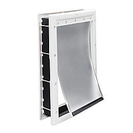 Premier Pet™ Large Plastic Pet Door in White