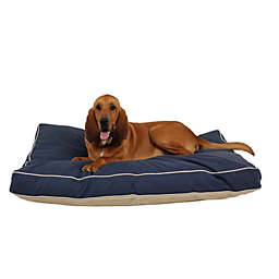 Carolina Pet Four Season Jamison Orthopedic Napper Large Pet Bed in Blue