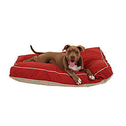 Carolina Pet Four Season Jamison Memory Foam Medium Pet Bed in Barn Red