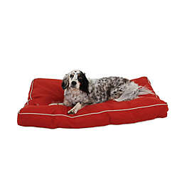 Carolina Pet Jamison Classic Canvas Memory Foam Medium Pet Bed in Barn Red