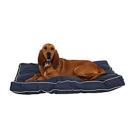 Carolina Pet Jamison Classic Canvas Memory Foam Large Pet Bed in Barn Red