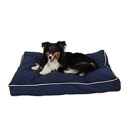 Carolina Pet Jamison Classic Canvas Orthopedic Small Pet Bed in Blue