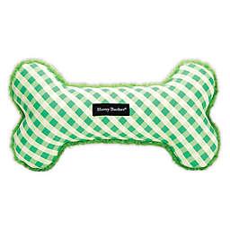 Harry Barker® Gingham Bone Dog Toy