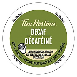 Tim Hortons® Decaffeinated Coffee Pods for Single Serve Coffee Makers 12-Count