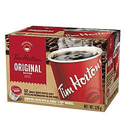 Tim Hortons® Original Blend Coffee Pods for Single Serve Coffee Makers 12-Count