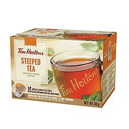 Tim Hortons® Orange Pekoe Blend Loose Leaf Steeped Single Serve Tea Pods 12-Count