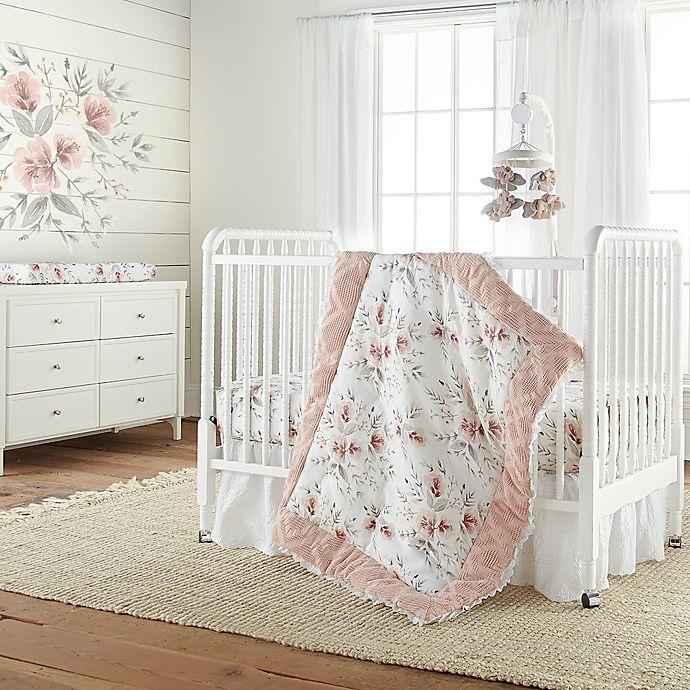 Alternate image 1 for Levtex Baby® Adeline 4-Piece Crib Bedding Set in Pink