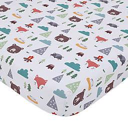 Little Love by Nojo® 3-Piece Retro Happy Camper Crib Bedding Set in Green