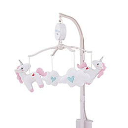 Little Love by NoJo® Rainbow & Unicorn Whimsy Musical Mobile in White
