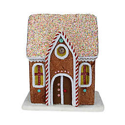 Northlight® 14.5-Inch Christmas Gingerbread House in Brown