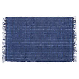Bee & Willow™ Home Wiekham Weave Placemat in Navy