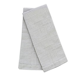 Emeril™ Chambray Waffle Kitchen Towels (Set of 2)