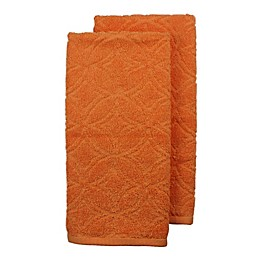 Freshee 2-Pack Sculpted Terry Kitchen Towels Set