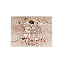 Grateful Thankful Placemats (Set of 4)