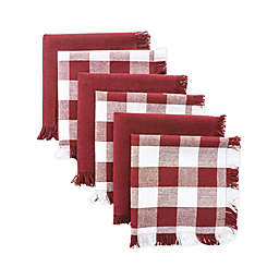 Checkered Dish Towels (Set of 6)