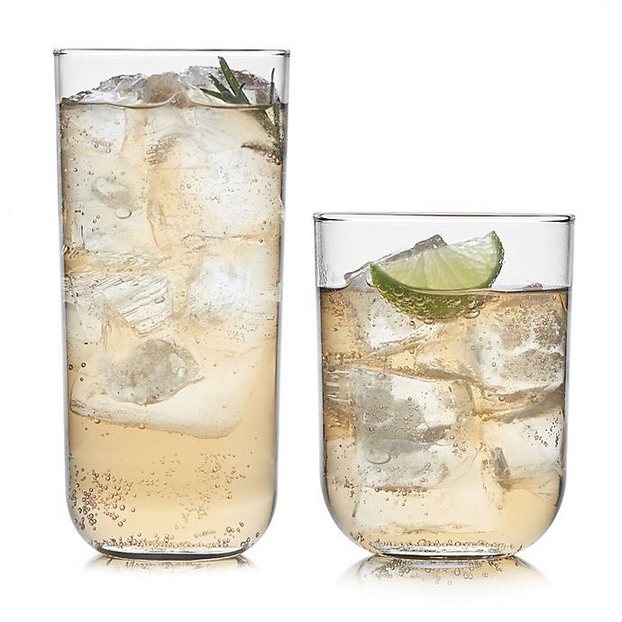 Alternate image 1 for Libbey® Glass Polaris Axis 16-Piece Drinkware Set