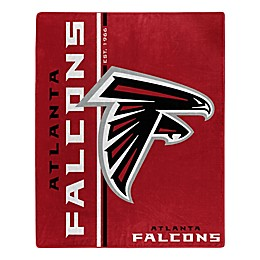 NFL Atlanta Falcons Royal Plush Raschel Throw